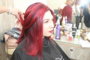 3 квітня відбувся семінар з техніки фарбування волосся