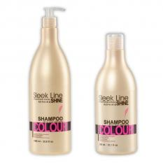 Shampoo SLEEK LINE COLOUR