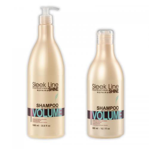 Shampoo SLEEK LINE VOLUME