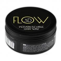 KERATIN FLEXIBLE HAIR WAX FLOW 3D